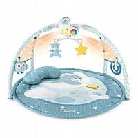 Chicco First Dreams - дитячий килимок 3 в 1 з мелодіями і барвистими проекціями Рожевий 98661