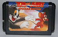 Картридж для Sega Mega Drive 2 TOM and JERRY