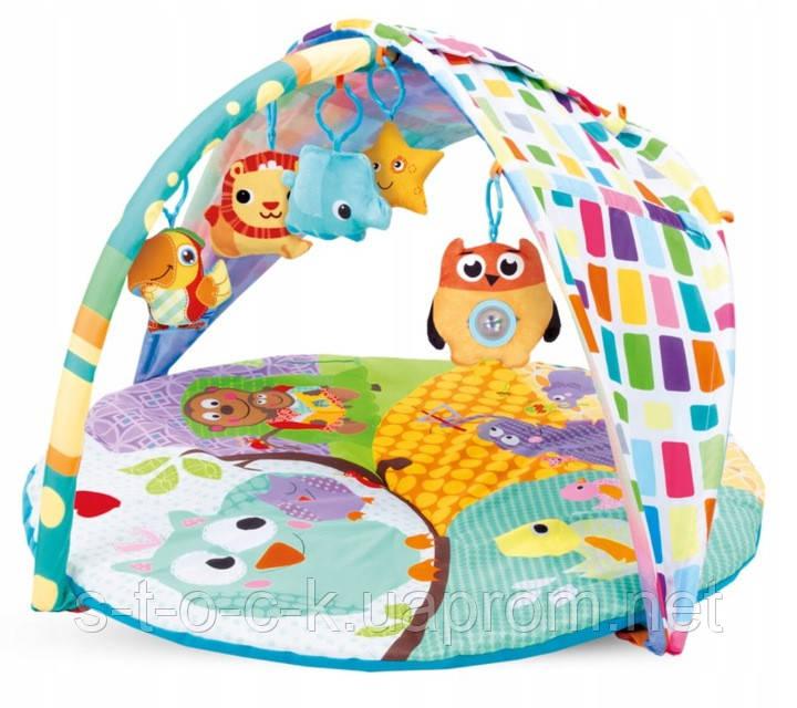 Kidwell Heaven Owls - Образовательный коврик с балдахином