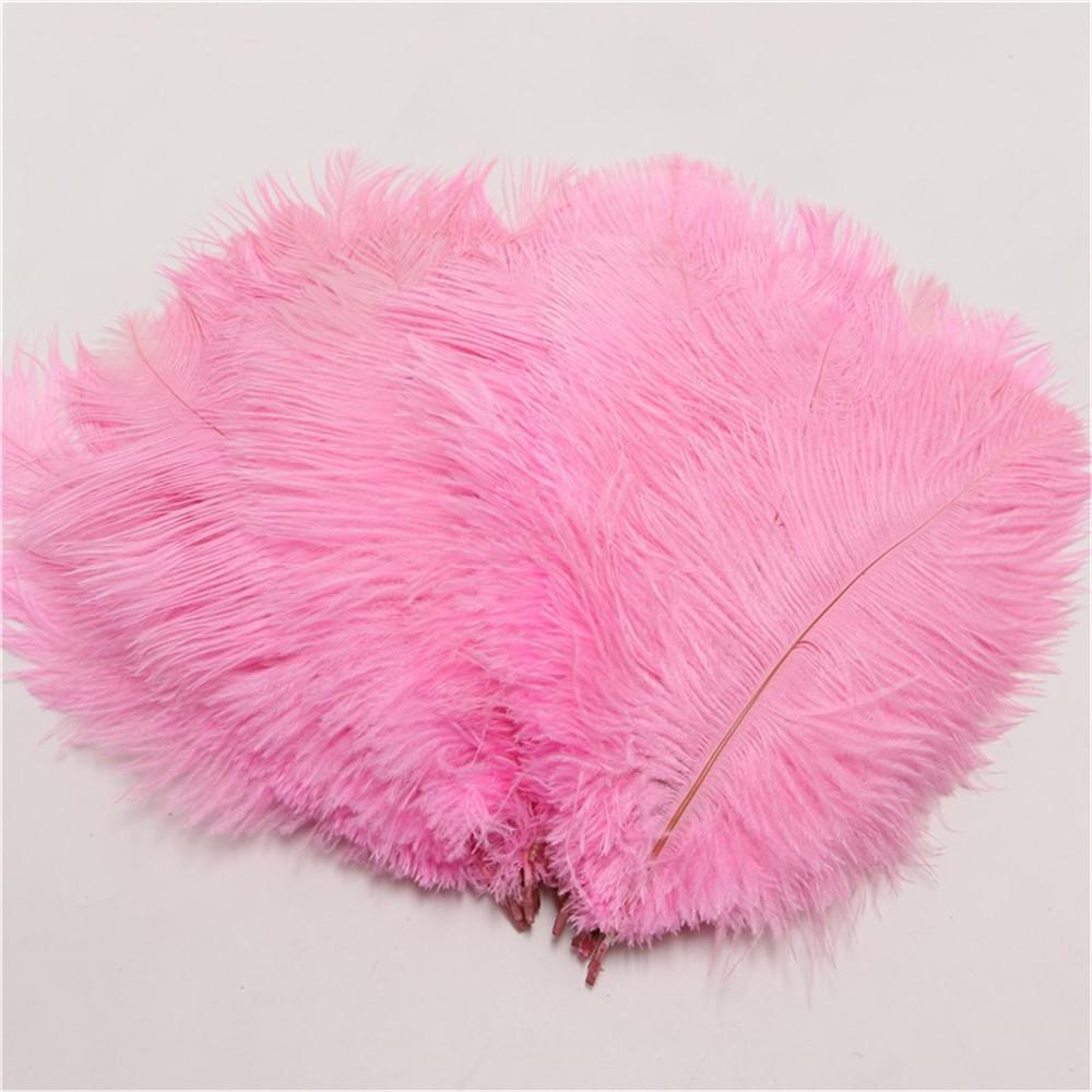"""ПЕРО страуса """"ЛЮКС"""".Цвет Светло-розовый.Размер 40-45cм"""