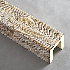 Балка DecoStar модерн (12х12)см (3м) патина коричнева