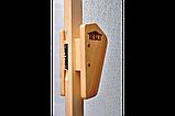 Двери для бани и сауны Tesli UNO Diamant1900 х 700, Дверь стеклянная, Украина, 70/190, стеклянная, матовая, с, фото 4
