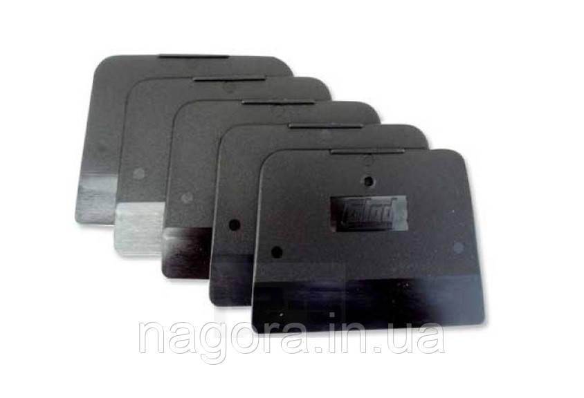 COLAD шпатель пластмасовий, м'який, чорний, комп. 5 штук