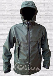 Куртка тактична SoftShell (зелений)