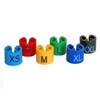 Пластиковые размерники Евро для определения размера на плечики вешалки для одежды
