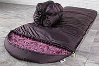 Спальный мешок Широкий (до -20) зимний спальник с махрой