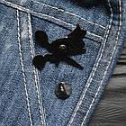 """Значок, брошь-значок, пин из металла на одежду, металлический значок """"Maker"""", фото 3"""