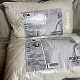 Подушка на холлофайбере 50*70 см. ODA с наволочкой на замке., фото 2