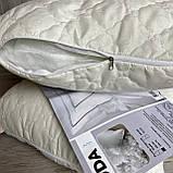 Подушка на холлофайбере 50*70 см. ODA с наволочкой на замке., фото 6