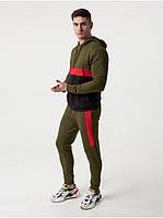 Чоловічий спортивний костюм КN Хакі