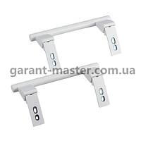 Комплект ручек двери (2 шт. верхняя/нижняя) для холодильника L=155mm Liebherr