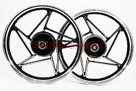 Диск колесный задний литой 18 Х 1,85 на мотоцикл  VIPER -125-J