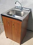 Мийка 50х60 з тумбою і краном (Комплект), фото 2