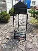 Мангал-барбекю 12 шампуров 4 мм. 42 кг, на дровнице, фото 8