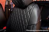 Авто чехлы Hyundai Tucson III Ромб. Эко-кожа. Модельные чехлы на Хюндай Туксон 3. Начиная с 2015 года, фото 3