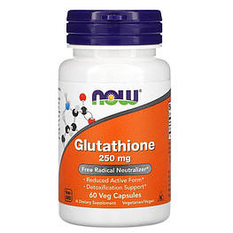 Glutathione 250 мг Now Foods 60 капсул