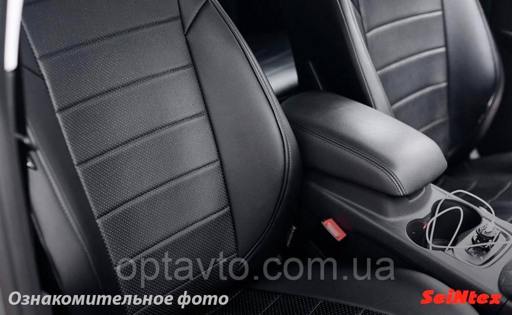 Авто чохли Тойота RAV 4 2012-2017р. Еко-шкіра. Модельні чохли на Тойота Рав 4