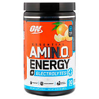 Аминокислоты Amino Energy+Electrolytes Optimum Nutrition 285 г tangerine