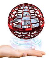 Флай спиннер бумеранг FlyNova Pro Flying Spinner літаючий спінер з підсвіткою RGB   летающий спиннер Червоний