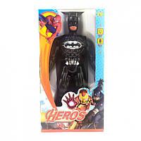 Фигурки супергероев 945ABHSZ-6, со звуковыми эффектами, 19 см (Бетмен-черный)
