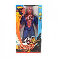 Фигурки супергероев 945ABHSZ-6, со звуковыми эффектами, 19 см (Человек паук)
