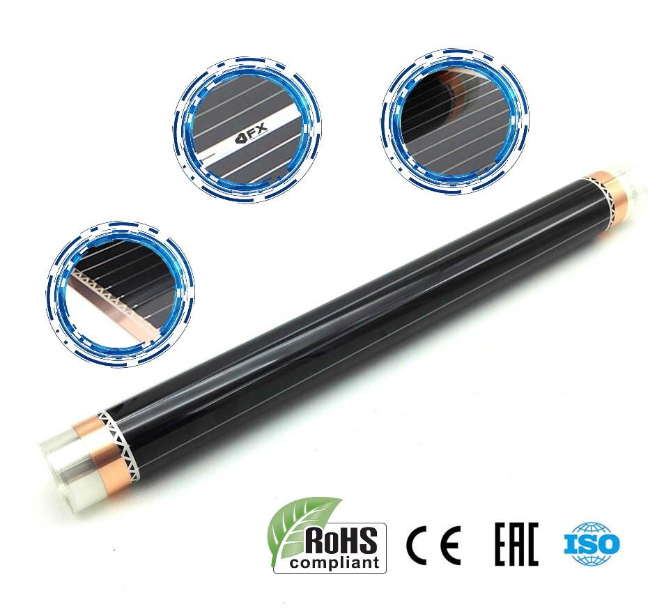 Теплый пол инфракрасный Греющая карбоновая пленка FX Heating 305 Корея