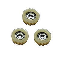 Набір шестерень 3 шт., для редукторного двигуна XF07F, XF08R, XF08C 36В 350Вт, фото 1