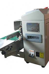 Конвейерный запайщик с датером горизонтальный для пакетов FRBM-810I, шов 10 мм Роликовый пайщик