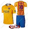 Футбольная форма детская Барселона Месси №10. Гостевая форма 2016