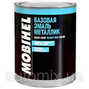 Базовая автоэмаль металлик Mobihel 671 Светло-серая 1 л