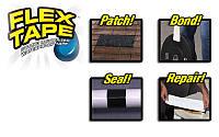 Міцна, прогумована, водонепроникна стрічка Flex Tape 10х150 см (5515), фото 6
