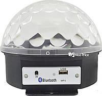 Світломузика диско куля Magic Ball Music MP3 плеєр з bluetooth XXB 01/M6 (2479), фото 2