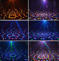 Світломузика диско куля Magic Ball Music MP3 плеєр з bluetooth XXB 01/M6 (2479), фото 3