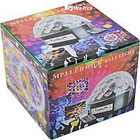 Світломузика диско куля Magic Ball Music MP3 плеєр з bluetooth XXB 01/M6 (2479), фото 4