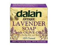 Мыло туалетное Dalan Antique Lavender 170г. Натуральное мыло Ручной Работы