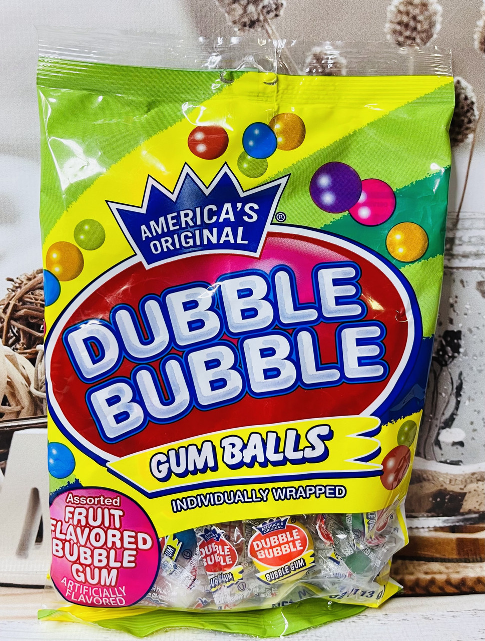 Dubble Bubble Gum Balls 113 g