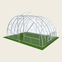 Теплица арочная 6х6м Solidprof, толщина поликарбоната 4мм Теплица арочная 6х6м Solidprof, толщина поликарбоната 6мм