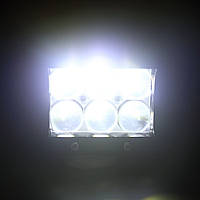 Автофара балка LED на дах (6 LED) 5D-18W-SPOT (12956), фото 7