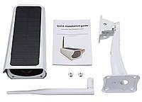Вулична акумуляторна IP камера відеоспостереження CAD F20 2 mp з сонячною панеллю (4946), фото 10