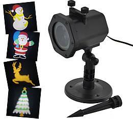 Лазерний проектор Star Shower XL-805 (танцюючі картинки) (6735)