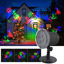 Лазерний проектор Star Shower SE326-02 (різнокольорові картинки) (5024)