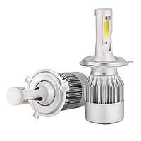 Светодиодные лампы C6 H4 36W 3800LM 4500-5000K (5538), фото 4