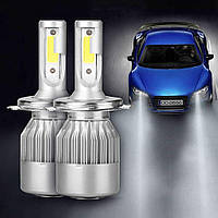 Светодиодные лампы C6 H4 36W 3800LM 4500-5000K (5538), фото 10