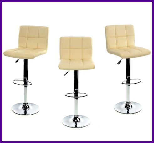Барный стул HOKER  BONRO  с Подставкой для ног Механизм Газлифт