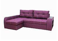 "Угловой диван ""Барон"" «Savana Violet»"