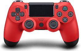 Дротовий джойстик DoubleShock 4 PS 4 Red (25156)