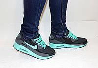 Женские подростковые кроссовки Nike Air Max 90 бирюза