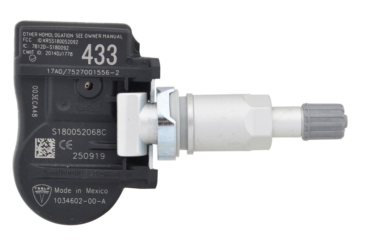 Внутренний датчик давления в шинах TESLA 433MHz для Tesla 3, S, X (TPMS) 1034602-00-A