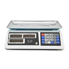 Ваги торгові електронні NN (40кг) з лічильником ціни