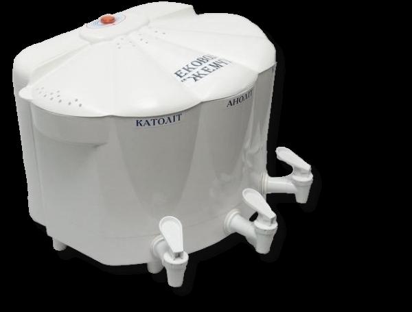 Побутовий фільтр для очистки води Ековод 6 Жемчуг Блок з анодом Si99,99%